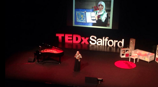 Tawakkol Karman – How I met this Nobel Peace Laureate at TEDx Salford